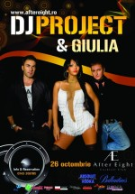 Concert Dj Project & Giulia la After Eight din Cluj-Napoca