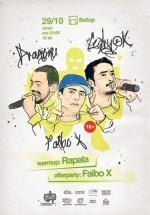 Concert Dragonu', Cedry2k şi Faibo X în Setup Venue din Timişoara