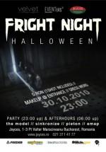 Frignt Night Halloween la Pub Joyces din Bucureşti