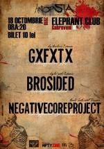 Concert GxFxTx & Brosided la Elephant Pub din Bucureşti