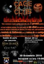 Halloween's Eve Metal Party la Cage Club din Bucureşti