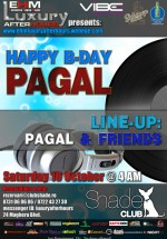 Happy B-Day Pagal în Club Shade din Bucureşti