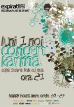 Concert Karma în Club Expirat din Bucureşti