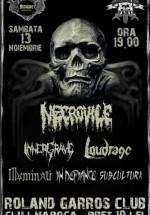 Concert Necrovile, Innergrave & Loudrage în Roland Garros din Cluj-Napoca