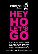 Ramones Party în Club Control din Bucureşti