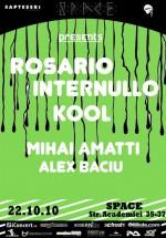 Rosario Internullo & Kool la Space Club din Bucureşti