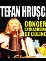 Concert Ştefan Hruşcă la Casa de Cultură a Sindicatelor din Sibiu