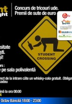 Wild Student Night la Ring Discotheque din Iaşi