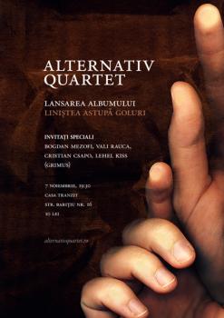 Concert Alternative Quartet la Casa Tranzit din Cluj-Napoca