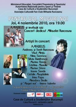 Concert Amadeus la Casa de Cultură a Studenţilor din Bucureşti
