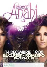Concert Anahi la Arenele Romane din Bucureşti