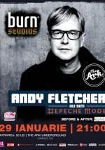 Andy Fletcher la The Ark din Bucureşti