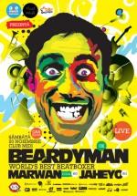 Concert Beardyman la Club Midi din Cluj-Napoca