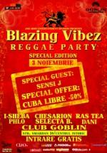 Blazing Vibez în Globlin Club din Bucureşti