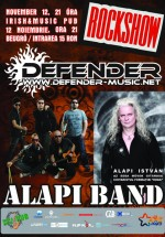 Concert Defender & Alapi Band la Irish & Music Pub din Cluj-Napoca