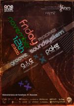 G.I.C., Groove Soundsystem & Pake în Studio Martin din Bucureşti