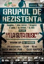 Grupul de Rezistenţă la Irish & Music Pub din Cluj-Napoca
