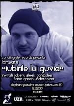 Lansare album Guvid la Elephant Pub din Bucureşti