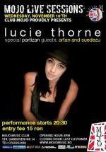 Concert Lucie Thorne în Club Mojo-Brit Room din Bucureşti