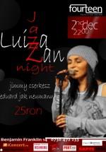 Concert Luiza Zan în Club Fourteen din Bucureşti
