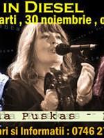 Concert Magda Puskas & Ioan Onişor în Club Diesel din Zalău