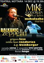 Concert Mike Godoroja & Blue Spirit şi Marius Mihalache la Teatrul Nottara din Bucureşti
