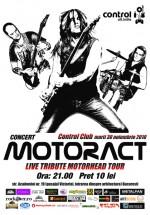 Concert MotorACT în Club Control din Bucureşti