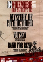 Mystert of 19th October, Votska & Band for Rent în La Tevi Pub din Cluj-Napoca