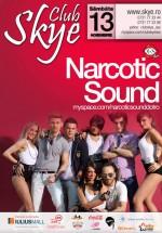 Concert Narcotic Sound la Club Skye din Iaşi
