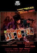 Concert Popa Sapka la Elephant Pub din Bucureşti