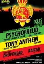 Psychofreud & Tony Anthem la Palatul Universul din Bucureşti