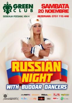 Russian Night la Green Club din Focşani