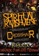 Concert Spiritual Ravishment & Crosshair la Club Barock din Petroşani