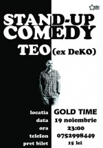 Stand-up Comedy la Gold Time Club din Baia Mare