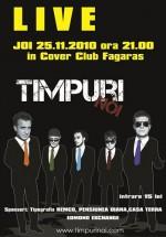 Concert Timpuri Noi la Cover Club din Făgăraş