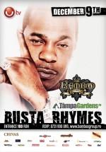 Concert Busta Rhymes în Bamboo Braşov