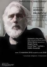 """in memoriam Adrian Păunescu"" la Restaurant La Strada din Botoşani"