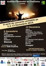 Academia SpEranţei – Ediţia de Crăciun la Club Control din Bucureşti