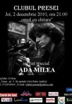 Concert Ada Milea la Clubul Presei din Iaşi