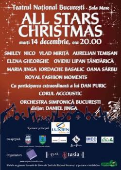 All Stars Christmas la Teatrul Naţional Bucureşti