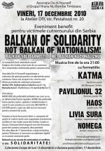Balkan of Solidarity la Atelier D.I.Y. din Timişoara
