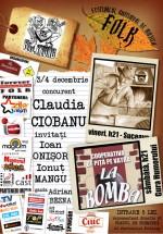 Concert Claudia Ciobanu în Pub La Fierarie din Suceava