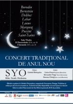 Concert Tradiţional de Anul Nou la Sala Thalia din Sibiu