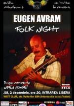 Concert Eugen Avram la Watt Club din Bucureşti