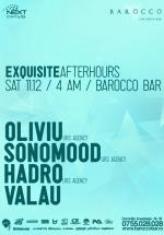 Exquisite Afterhours în Barocco Bar din Bucureşti – ANULAT