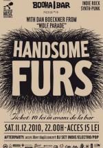 Concert Handsome Furs la Booha Bar din Cluj-Napoca