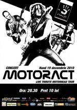 Concert MotorACT în Club Hand din Iaşi