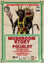 Concert Mushroom Story la Flying Circus Pub din Cluj-Napoca