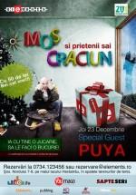 Moş Crăciun şi prienii săi la Club Elements din Bucureşti