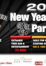 Revelion 2011 în Club Bamboo Chandelier din Brăila